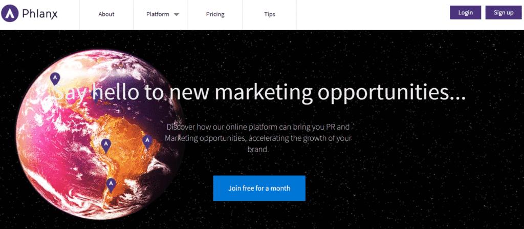Phlanx Influencer Marketing Platform - Grow Your Online Business with Influencer Marketing