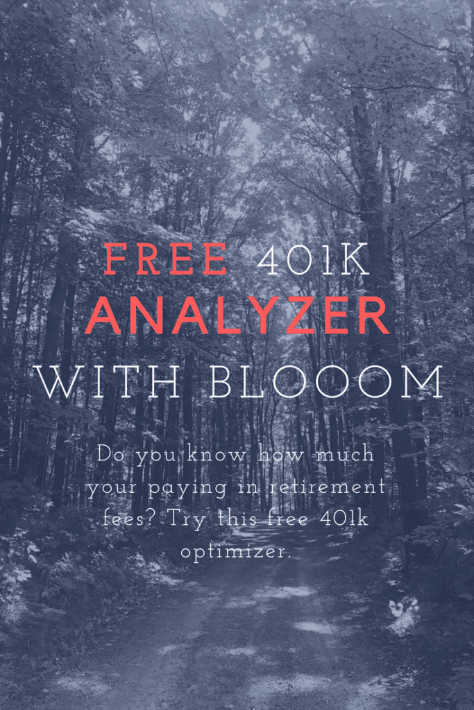 Free 401K Analyzer with Blooom
